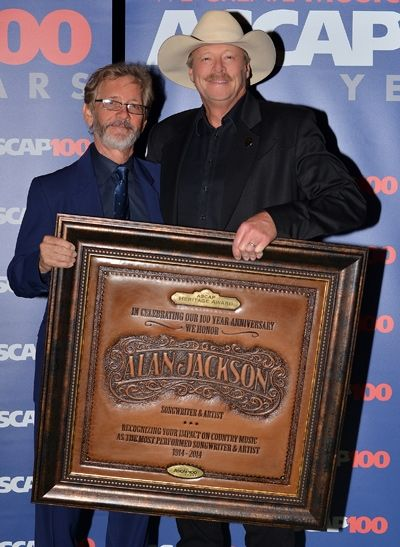 Alan Jackson Receives The Heritage Award At Ascap Country Music