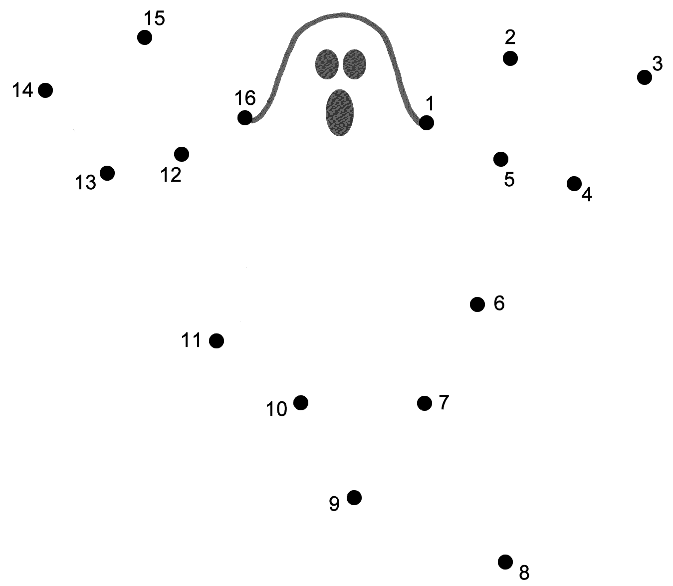 Halloween Connect The Dots Pages