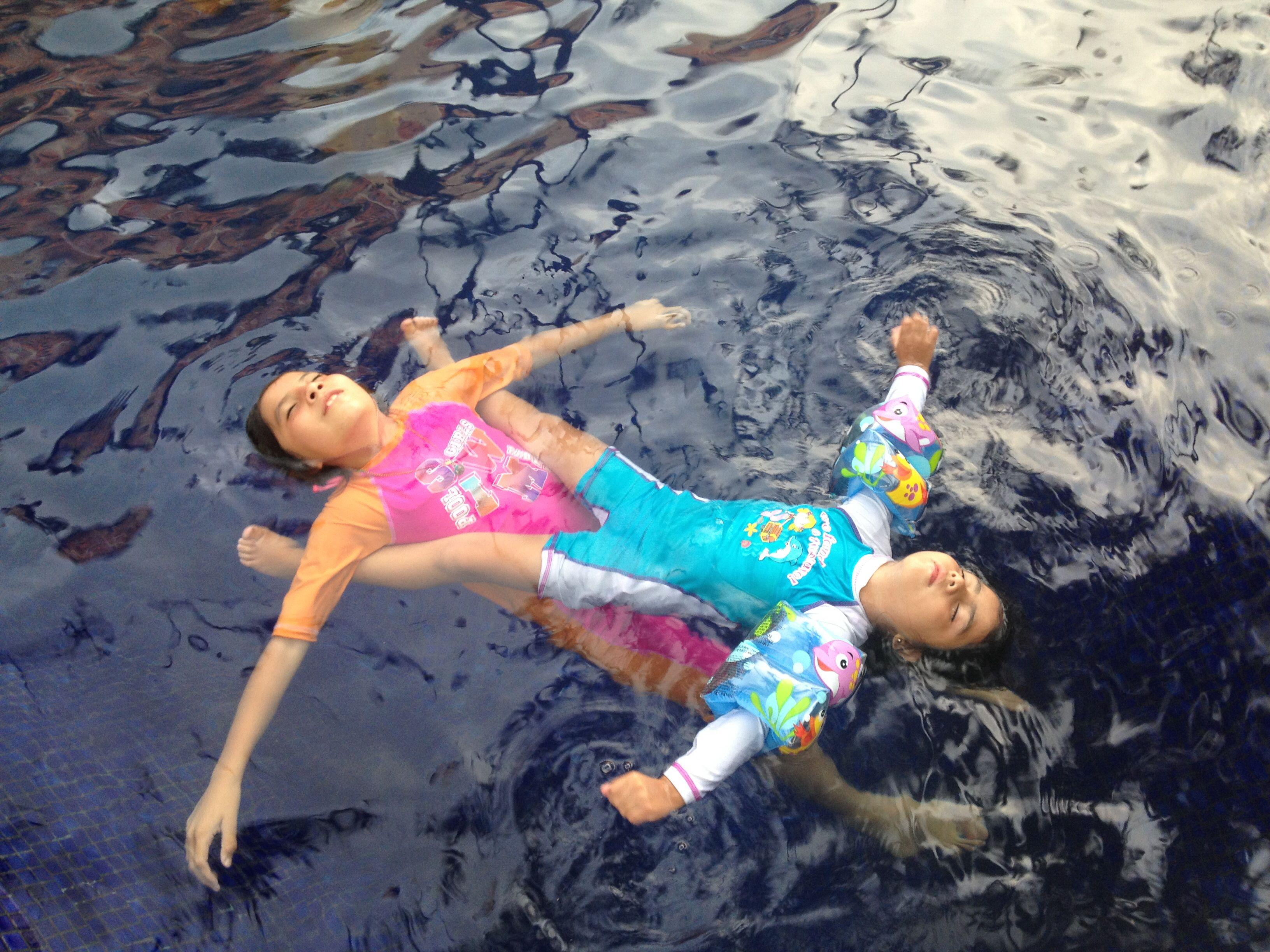 Nadando en Vallarta