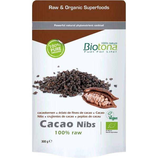 Biotona Pepitas De Cacao Crudo Bio 300gr Recetas De Alimentos