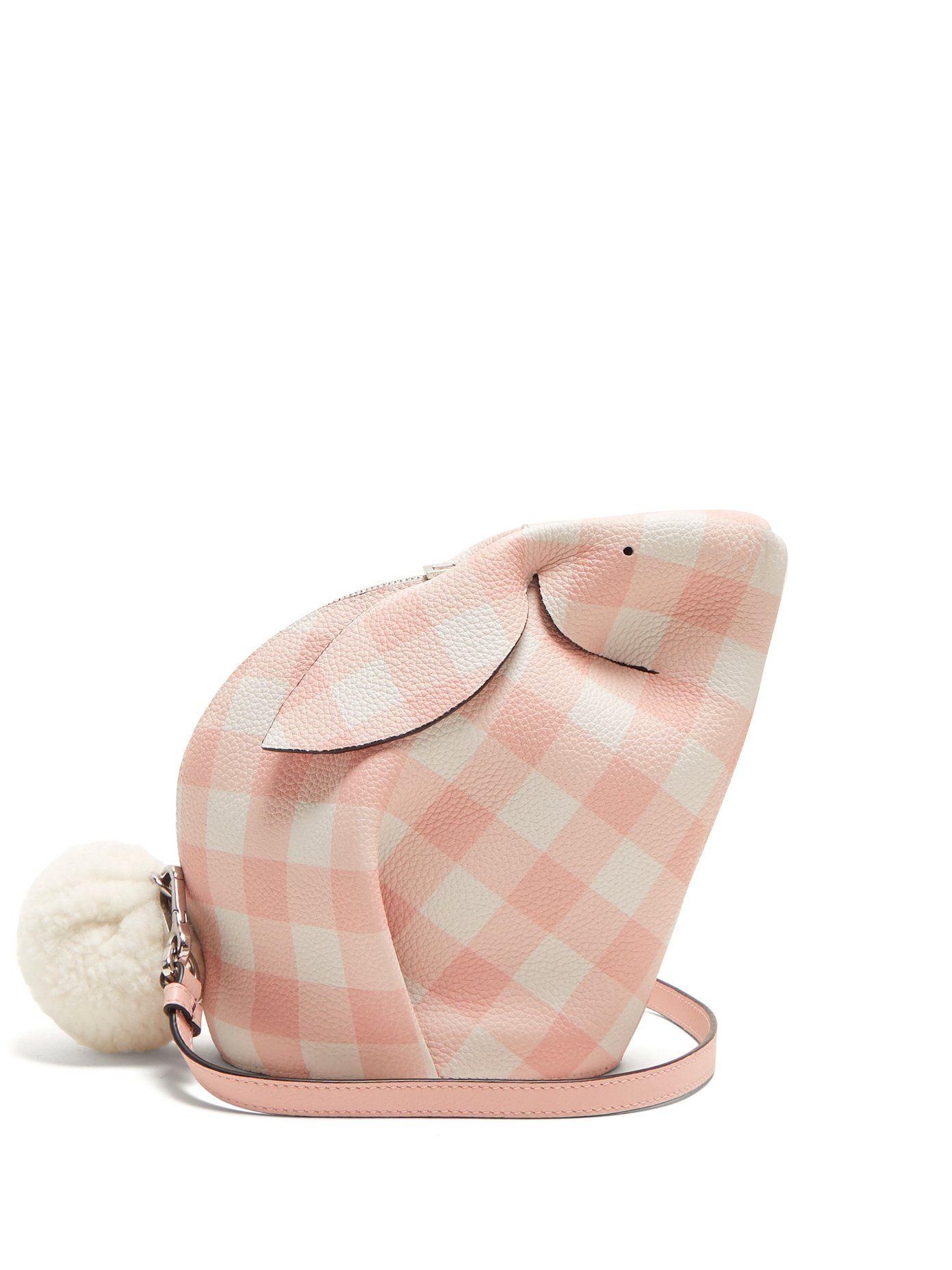 Bunny leather cross-body bag Loewe jSH2p