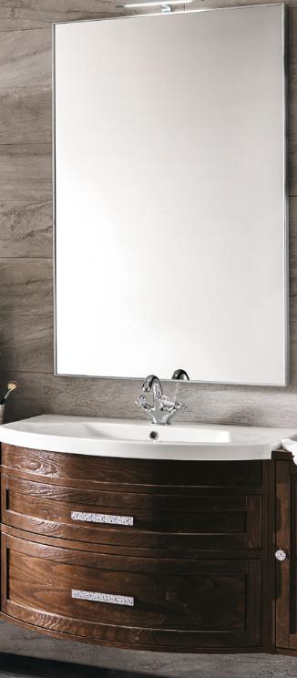 Eban gloria 107 base 90 cm washbasin and mirror im for Badezimmermobel im angebot