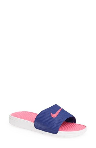 35f3213b5 Nike  Benassi - Solarsoft  Slide Sandal (Women) available at  Nordstrom