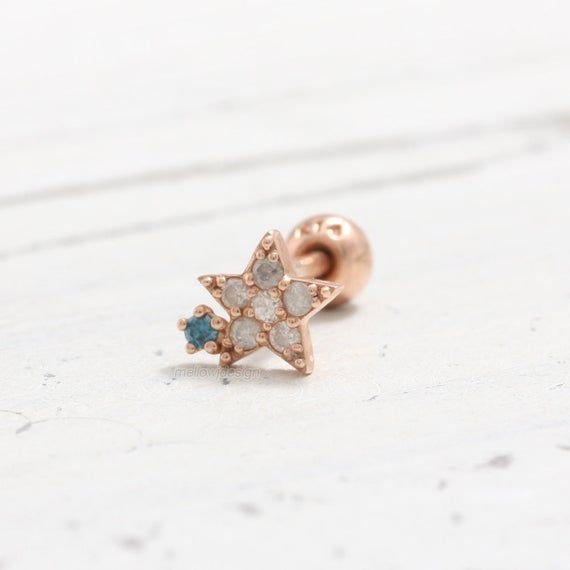 0.02ct Diamond Earrings PiercingStud Brilliant diamond cut 0.02ct Includes Diamond Certificate. 14K or 18K White solid gold