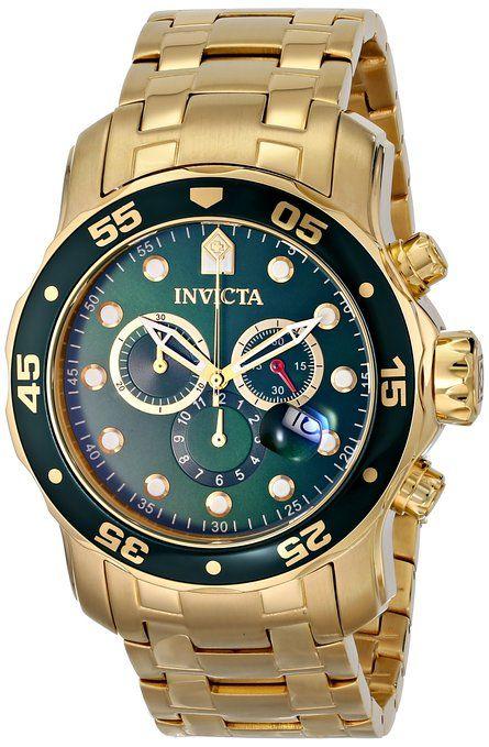 Invicta 0075 Reloj De Pulsera Hombre Color Dorado Amazon Es Relojes Reloj De Pulsera Hombre Relojes Invicta Para Hombres Reloj De Oro