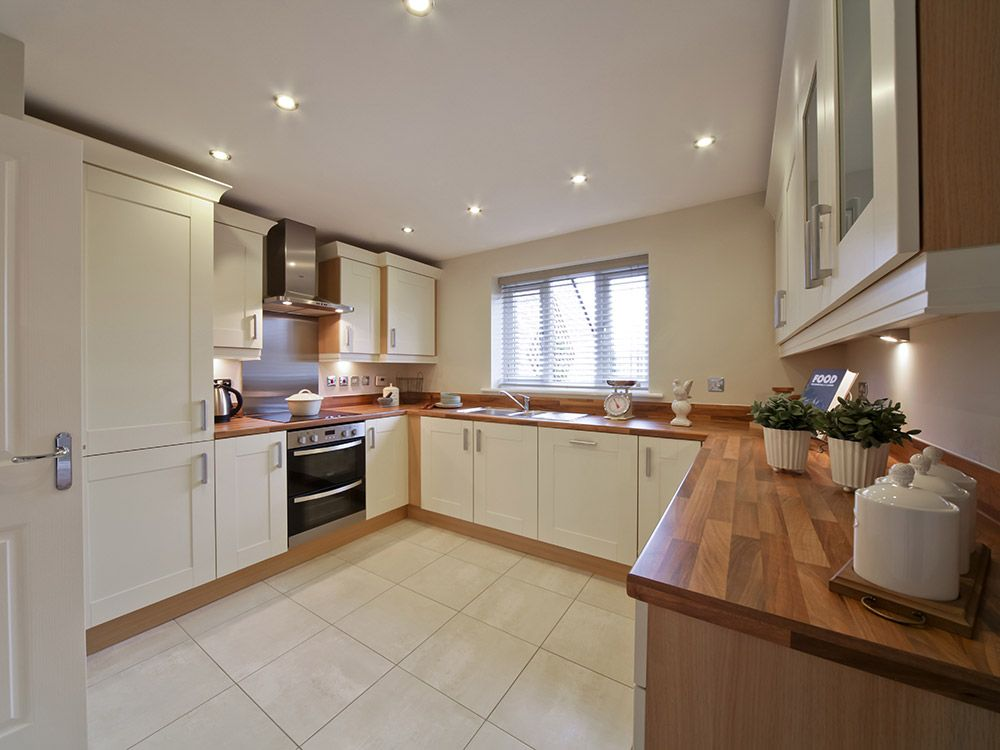 Kitchen family rooms Typical Taylor Wimpey Showhome