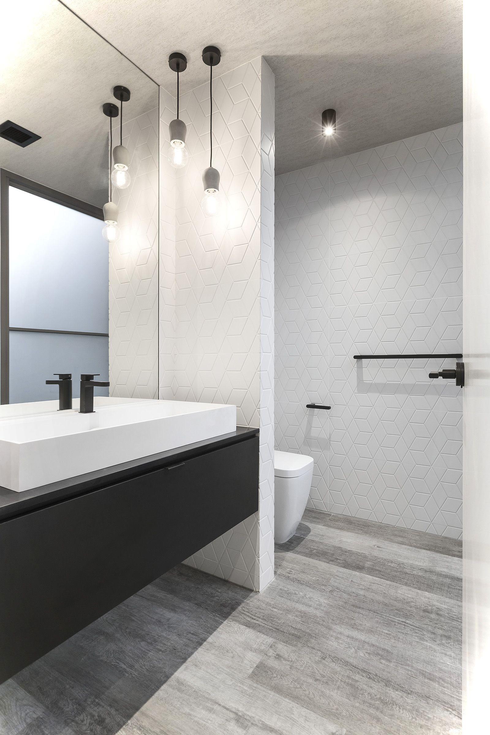Cool 99 Luxury Black and White Bathroom Ideas