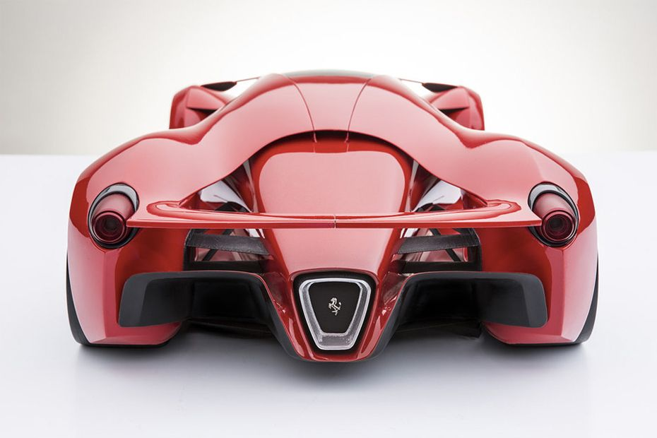 Ferrari Supercar Concept Rear Cars Pinterest Lekukan