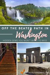 Photo of Exploring Off the Beaten Path in Washington  If you're planning a vacation road …