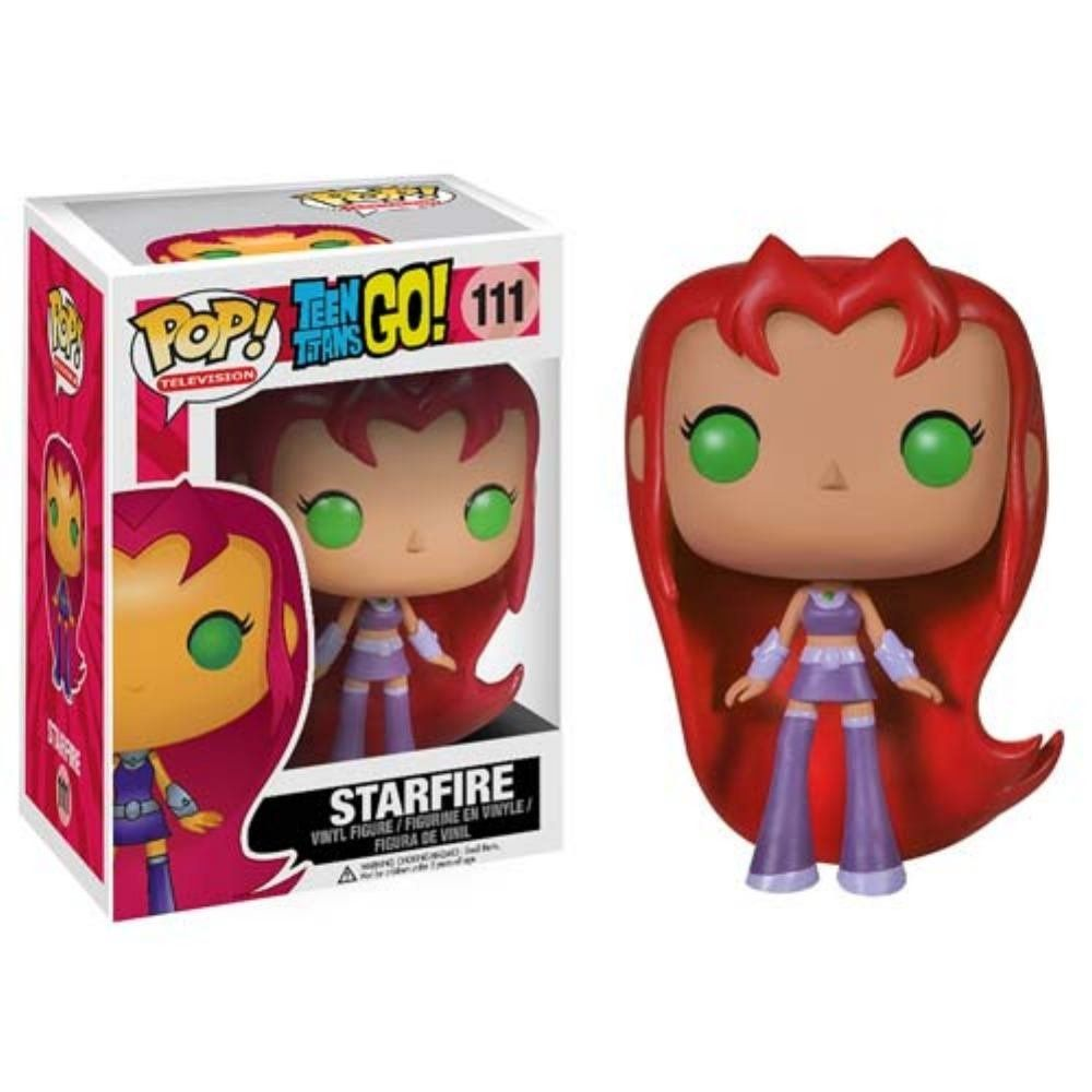 68fdfcbf831 Amazon.com  Funko POP TV  Teen Titans Go! - Starfire Action Figure  Toys    Games