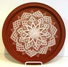 tole painting lacework - Google Search