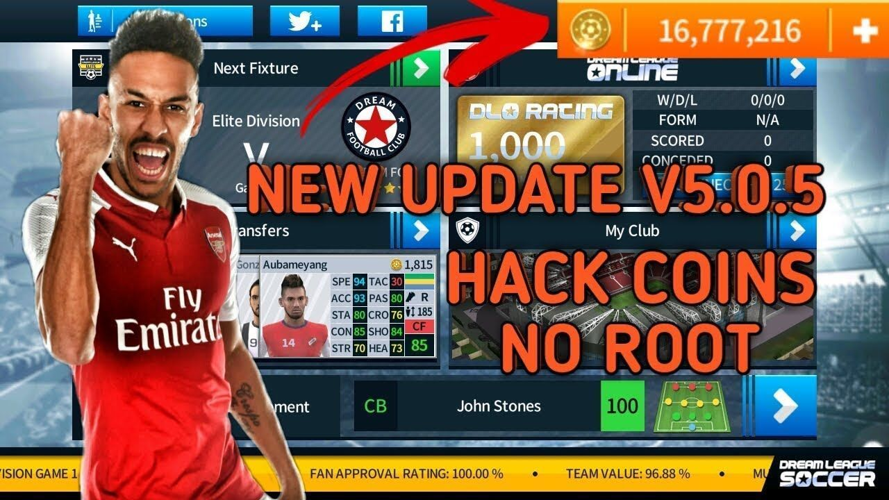 Dream League Soccer 2020 Hack Tool Get Free Coins In 2020 Football Video Games Game Cheats Download Games
