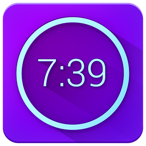 Download Neon Alarm Clock Free Android App | Simple  Smart