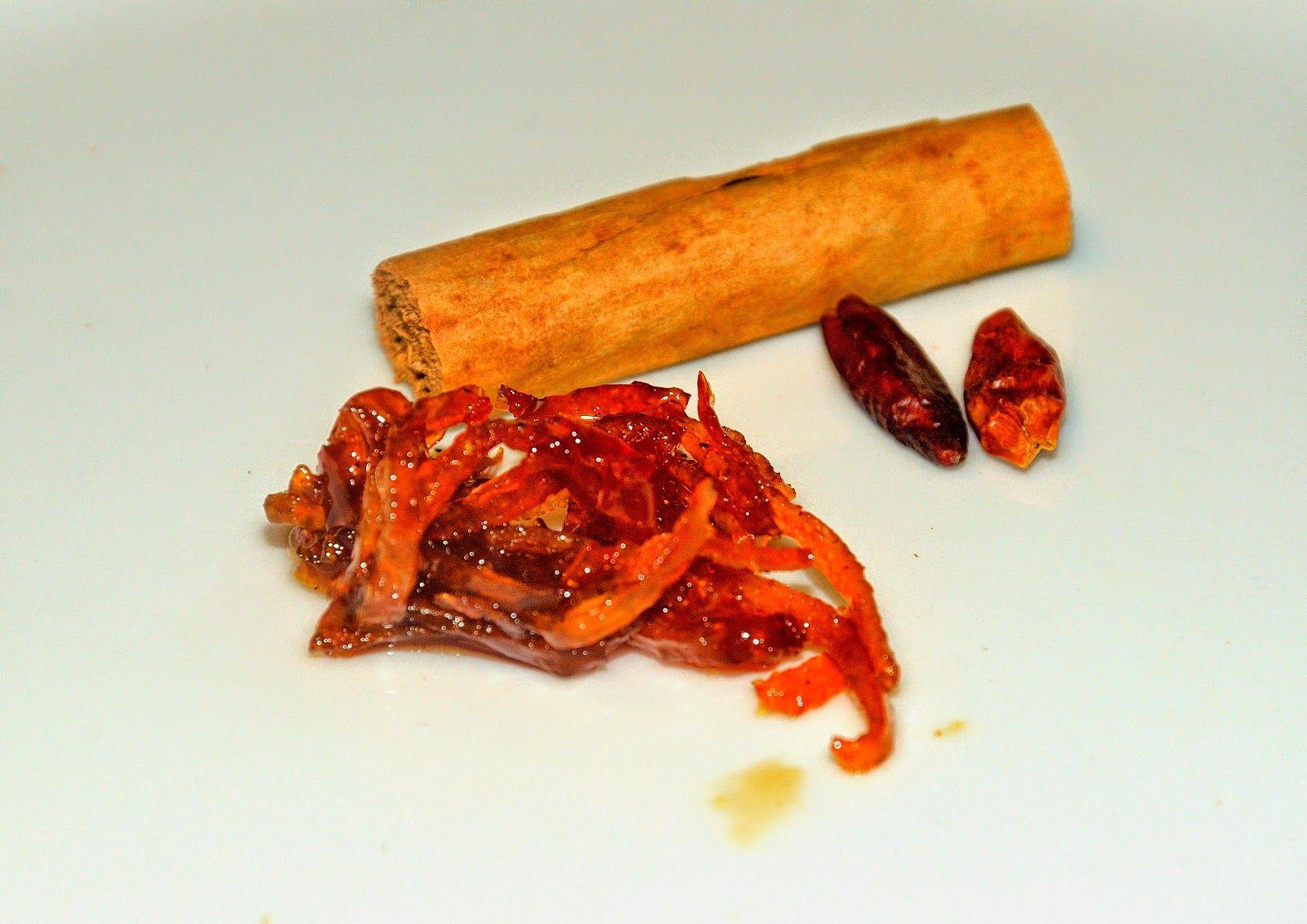 Cucina con Testina: Scorzette d'arance candite