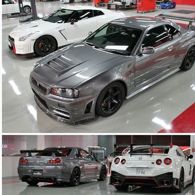caliwheels the two best vehicles from nissan r34 z tune nismo gtr vie zerotohundred. Black Bedroom Furniture Sets. Home Design Ideas