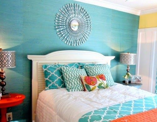 Dormitorios decorados en azul bedroom pinterest bed for Cuartos decorados