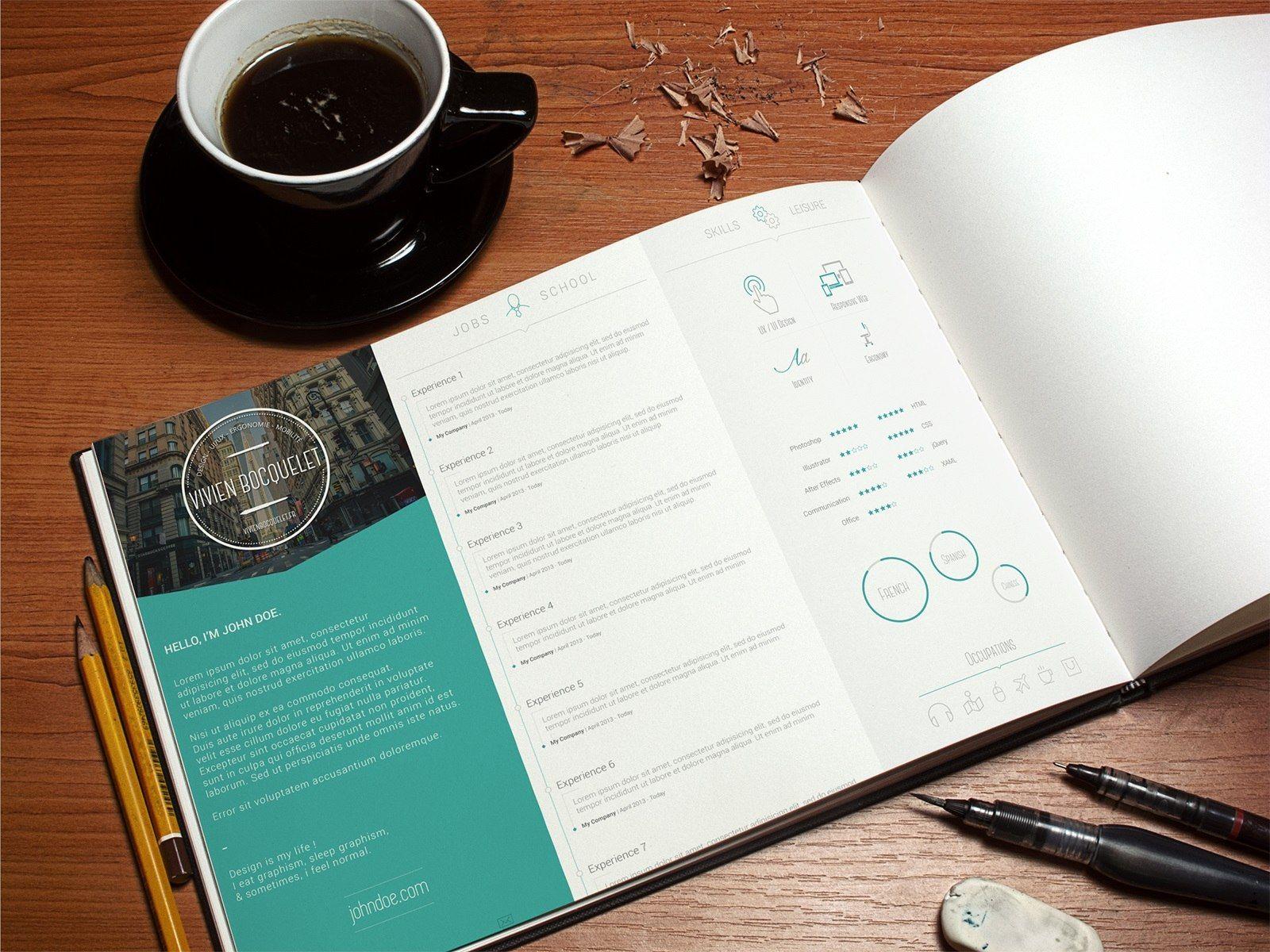 Landscape Graphic Design Cv  Google Search  Personal Branding