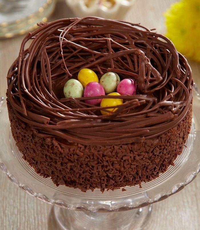 1001 recettes et id es pour un repas de p ques savoureux dessert de paques nid de paques et - Recette nid de paques au moka ...