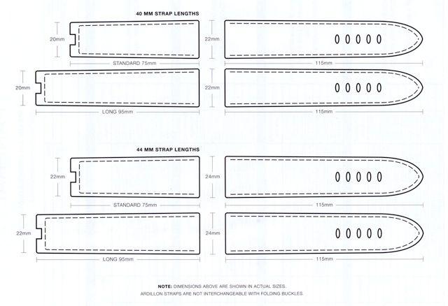 panerai strap diagram watch strap and bracelet pinterest