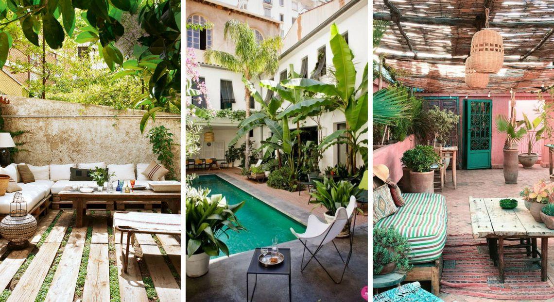 Patio 35 id es pour faire le plein d 39 inspiration Amenager un petit jardin de 20m2