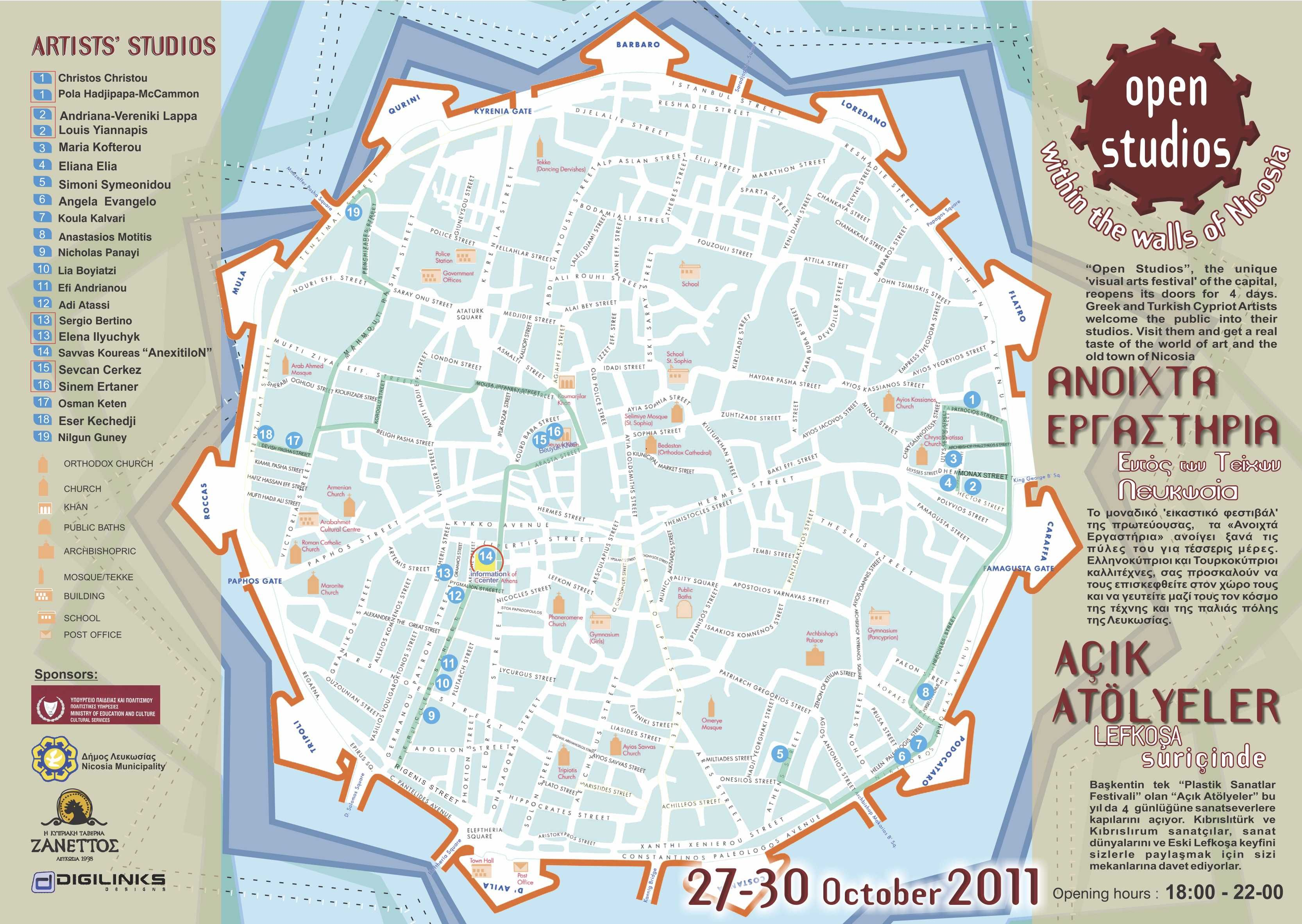 Bildergebnis fr maps nicosia Nicosia Pinterest