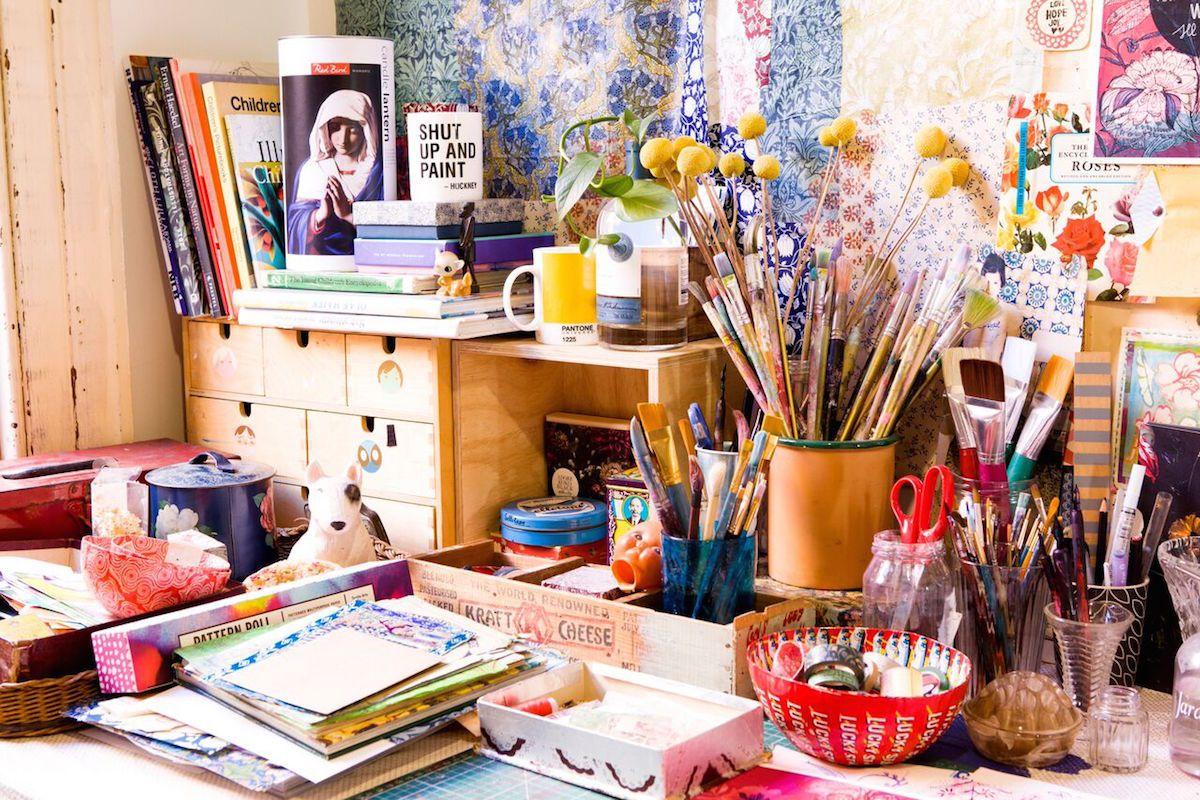 Paula Mills for DesignSponge Paula Mills for