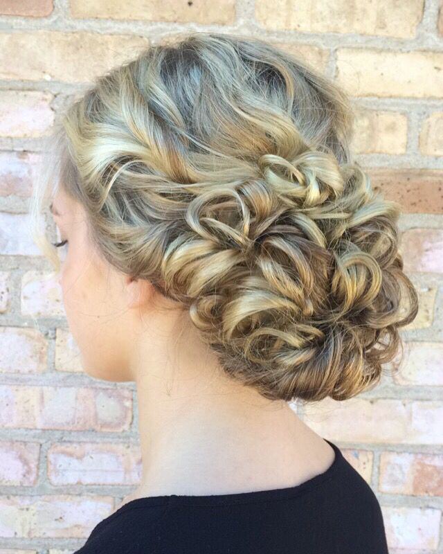 Bridal/Prom Hair! Follow Me At Angelicab_cosmetology ️