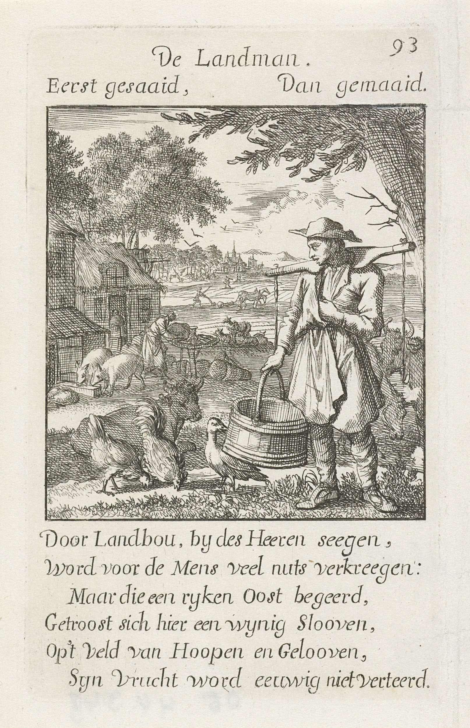 Caspar Luyken   Boer, Caspar Luyken, Jan Luyken, Jan Luyken, 1694  