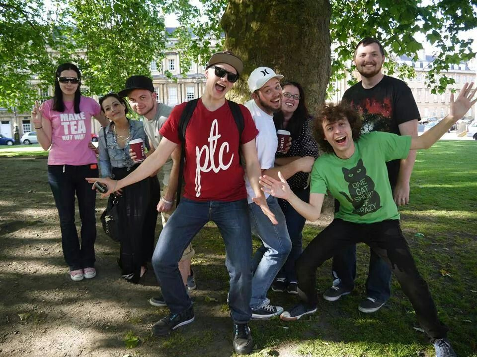 The magic animal club gang! Amy, Netty, Squid, Tom, Finball