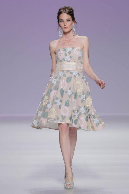 Vestido de MATILDE CANO de la colección primavera & verano 2014