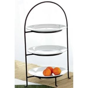 TAG Classic 3-Tiered Plate Stand by AllModern