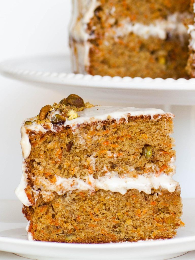 Carrot Cake With Cream Cheese Frosting Tatyanas Everyday Food Recipe Tatyana S Everyday Food Food Carrot Cake