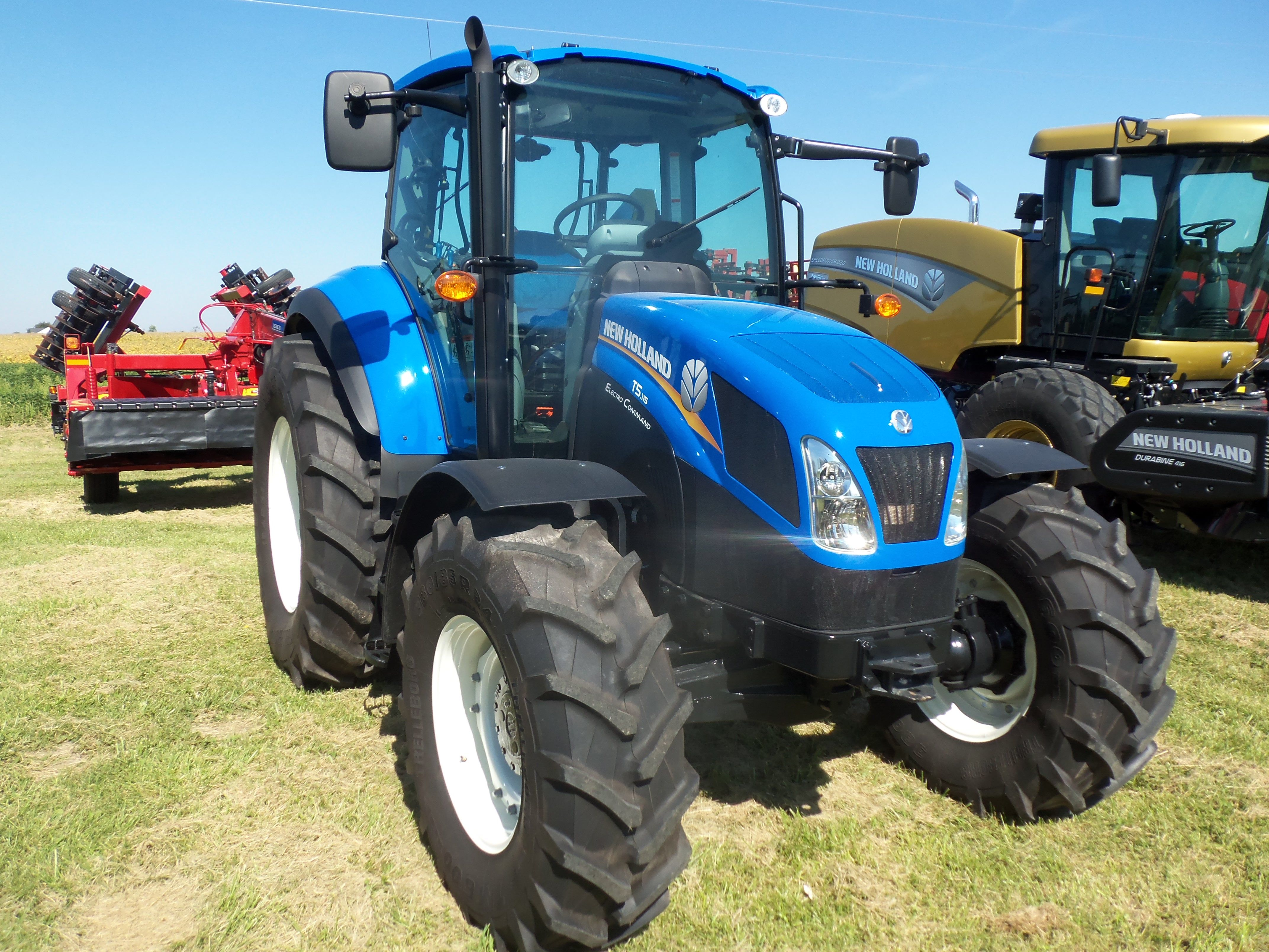 New Holland T5115 Tractor Tracteur Vintage