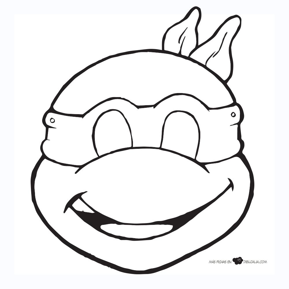 Moldes De Las Tortugas Ninja Buscar Con Google Mascara De