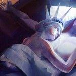 O polêmico anúncio da UIA com a Estátua da Liberdade e o Cristo Redentor