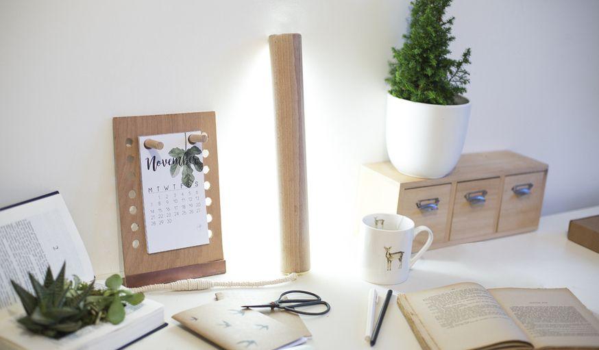 En Bois Des Fabriquer Avec Une À Lampe Poser Diy xBoQerdCW
