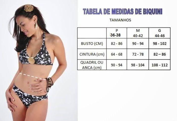 dbd750933 COSER Y MODA Consejos: TABLA DE MEDIDAS DE BIKINI   VESTIMENTA-MODA ...