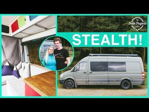 They Built A Crazy Amazing Adventure Sprinter Van