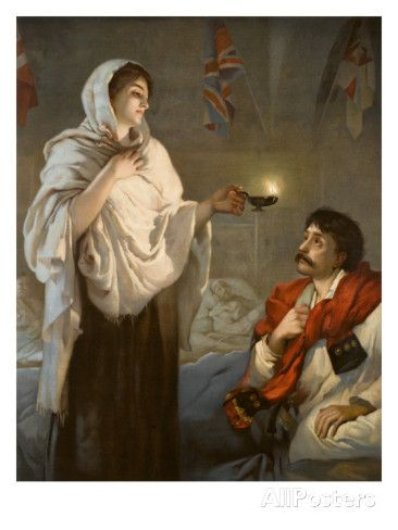 The Lady with the Lamp Florence Nightingale Giclee Print at ...