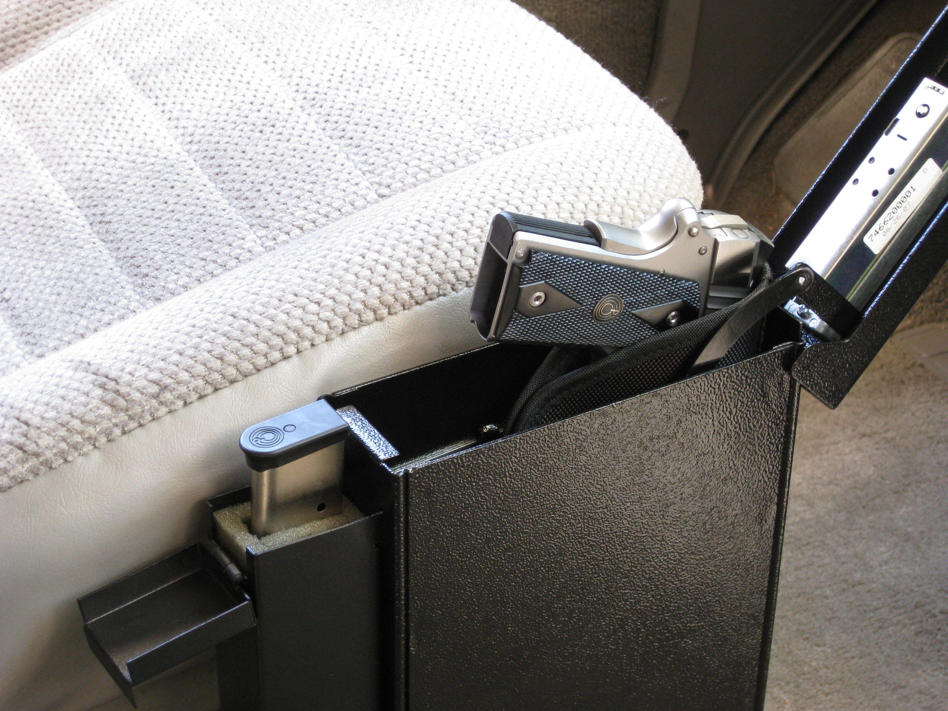 Pistol Vault Gun Safe Under The Bed Gun Safe Neat Things