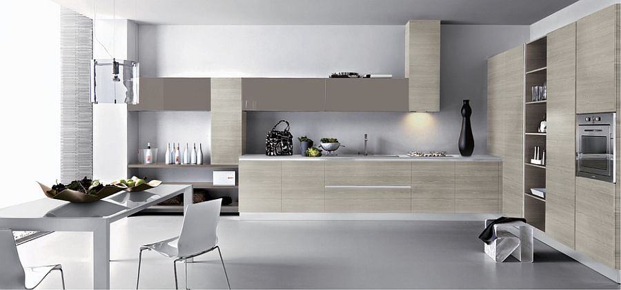 Beautifulkitchencountersandsmartshelvessaveupon