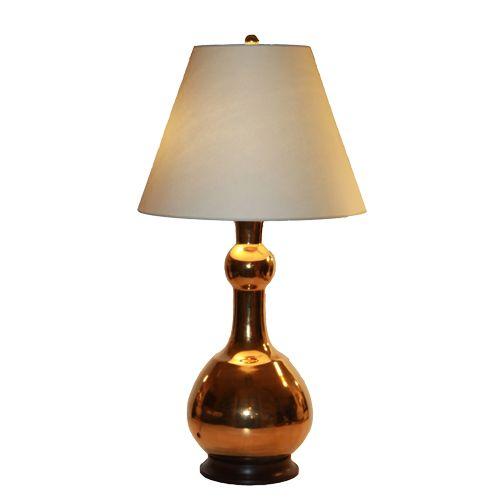 "christopher_spitzmiller_cameron_lamp_in_gold_glaze.jpg  31"" h"