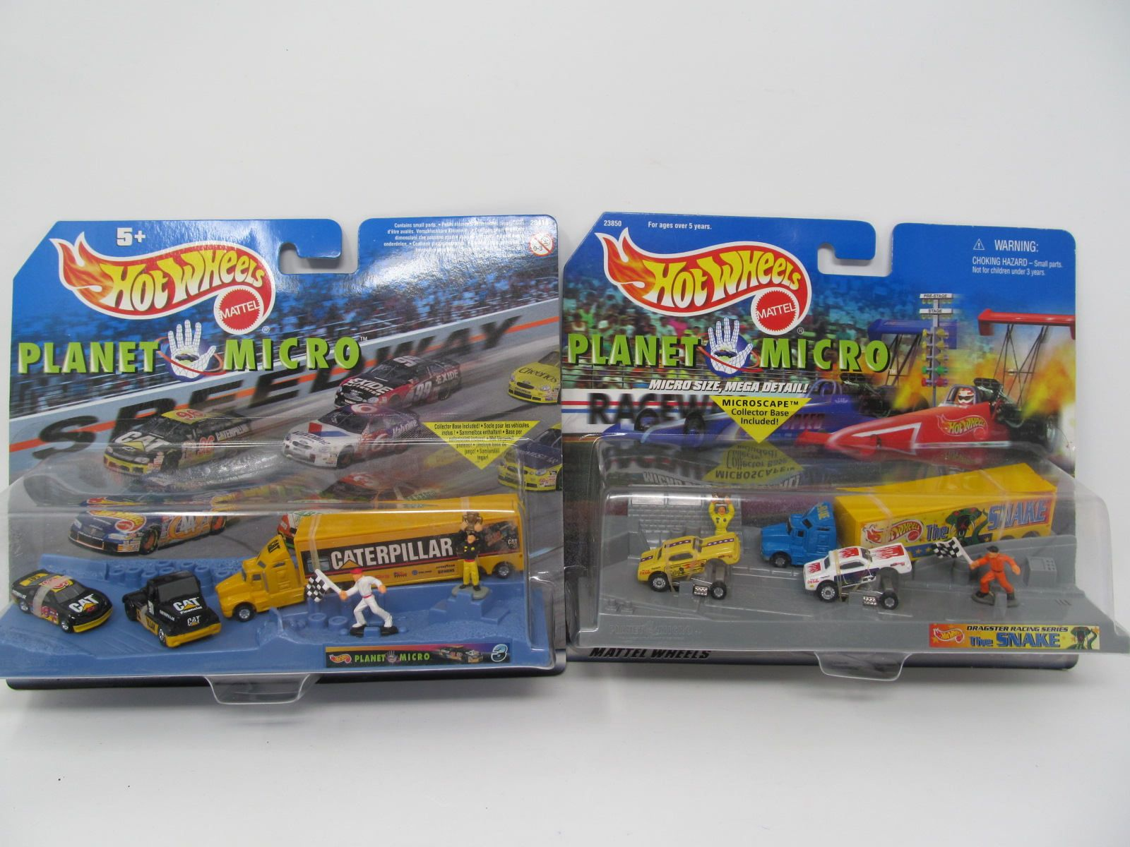 Beste Hot Wheels MicroMachines - 2 sets - Planet Micro Dragster Racing JN-66
