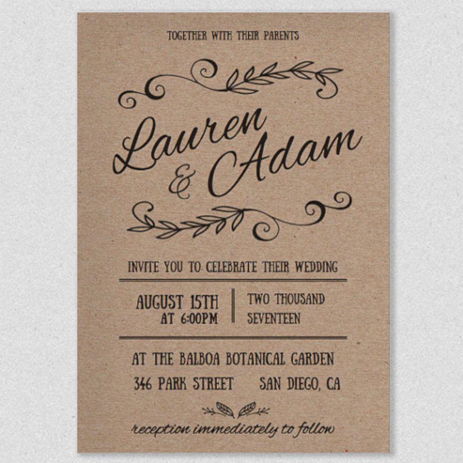 Cool amazing and unique diy wedding invitations ideas