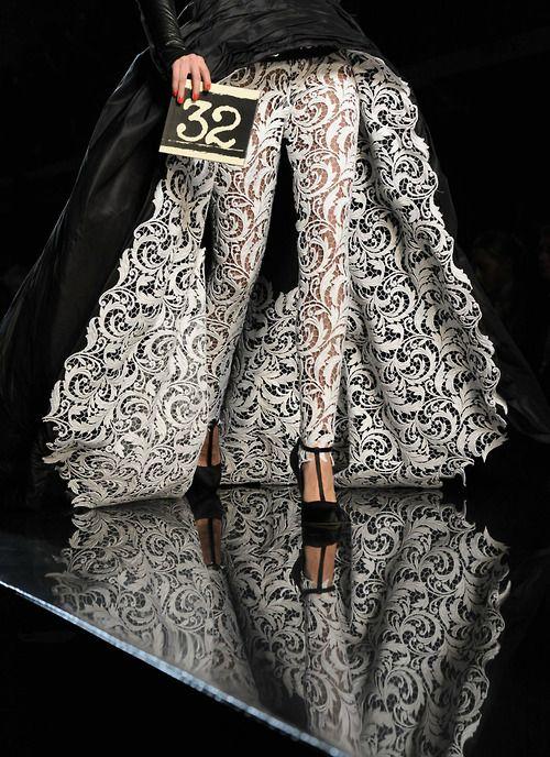 "#Jean Paul Gaultier haute couture s/s 2011 Legs by Monika ""Jac"" Jagaciak"