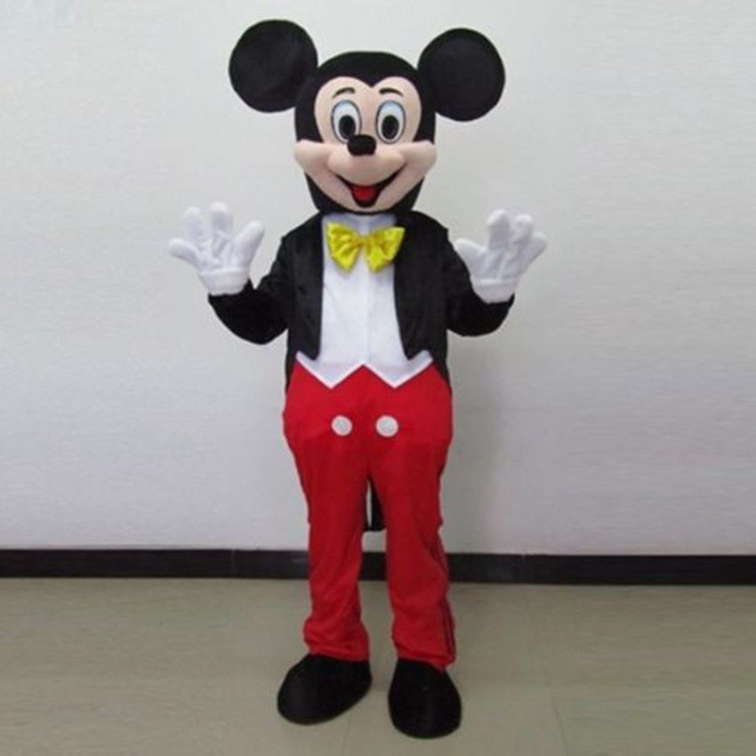 full Mickey Mouse Mascot Costume for Adult Performance on Party & full Mickey Mouse Mascot Costume for Adult Performance on Party ...