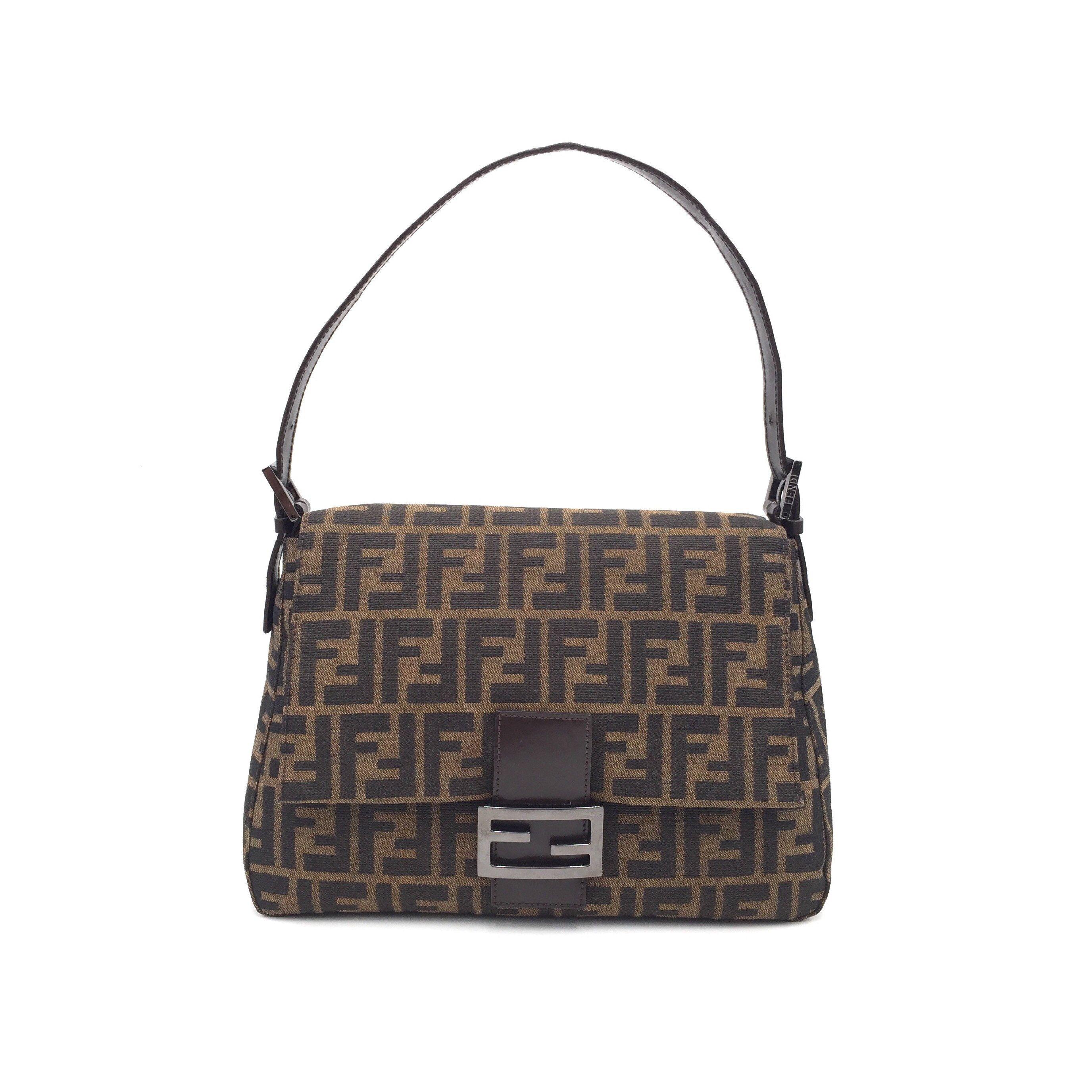 Authentic Vintage Fendi Zucca Mama Baguette Fendi Bags Louis Vuitton Damier