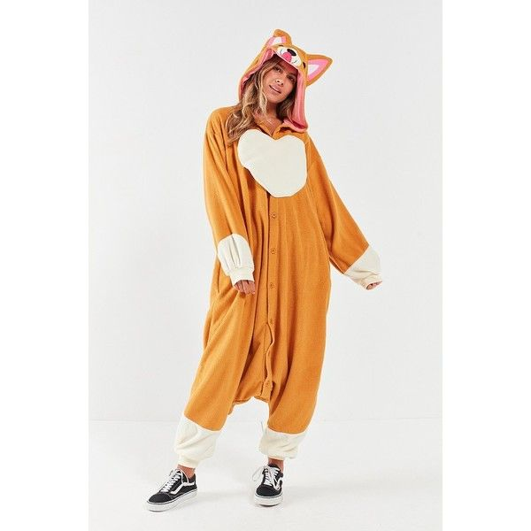kigurumi corgi costume 79 liked on polyvore featuring costumes party costumes