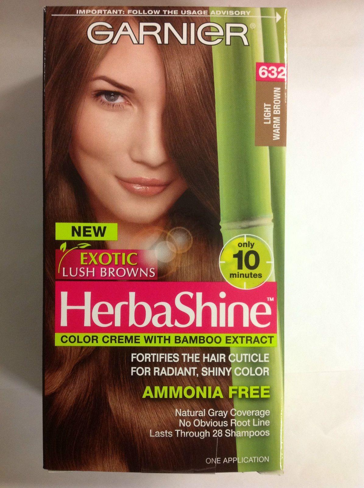 Garnier herbashine haircolor creme 632 light warm brown garnier herbashine haircolor creme 632 light warm brown ammonia free nvjuhfo Image collections
