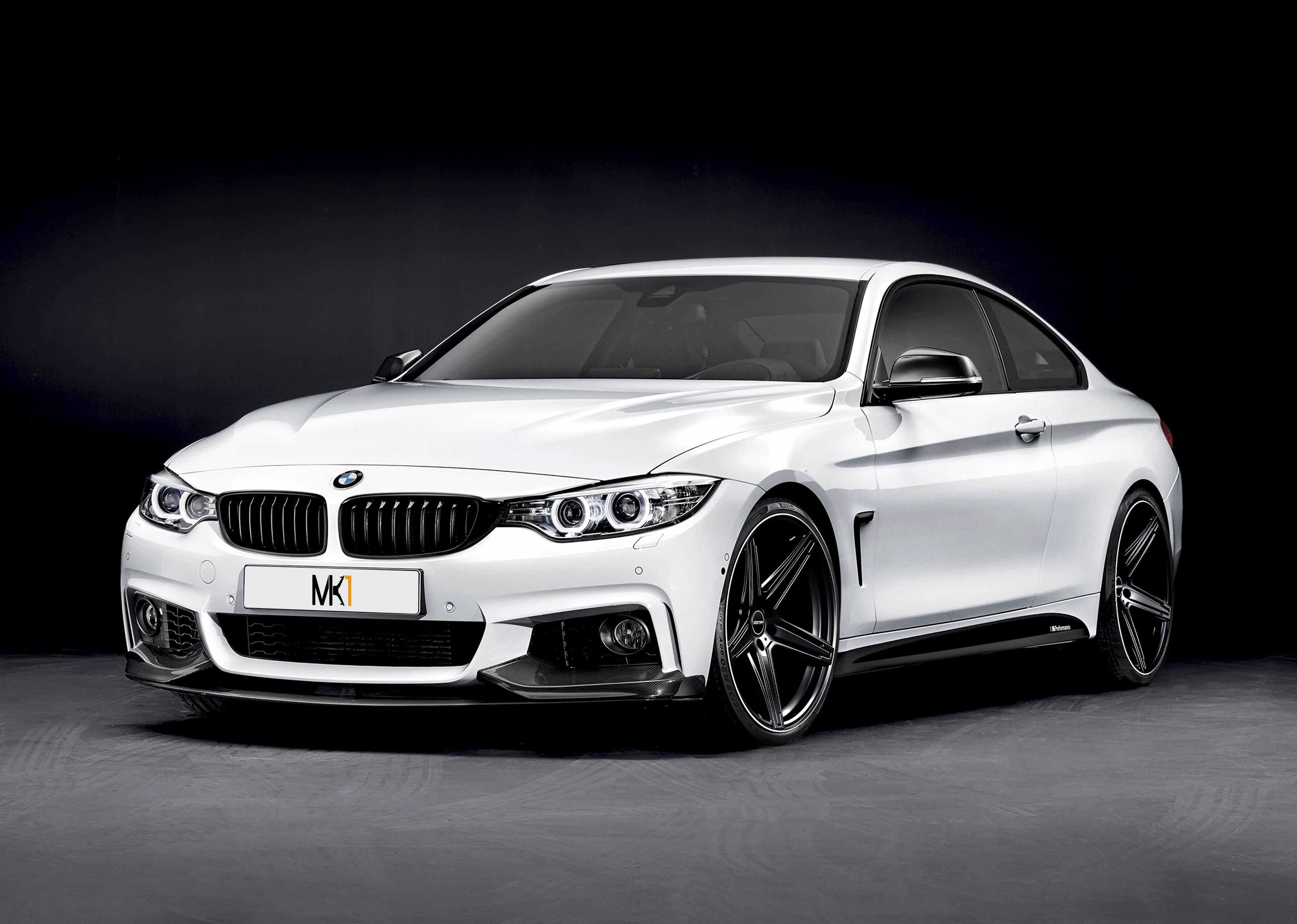 BMW 4 Series Coupe with MK1 Black Diamond Lip professional